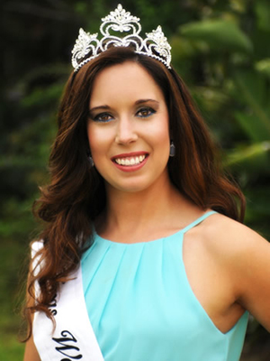 2015 Texas Watermelon Queen Kristin Valadez